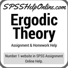 Ergodic Theory SPSS Help