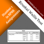Kruskal Wallis Test