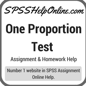One Proportion Test Assignment Help